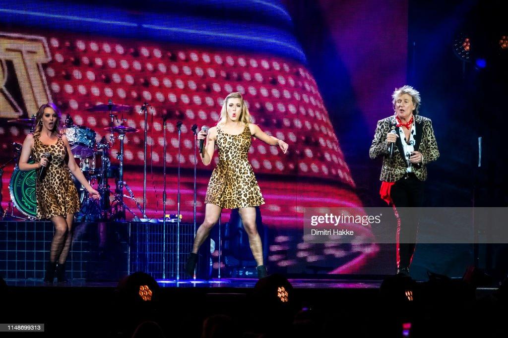 NLD: Rod Stewart Performs At Ziggo Dome In Amsterdam