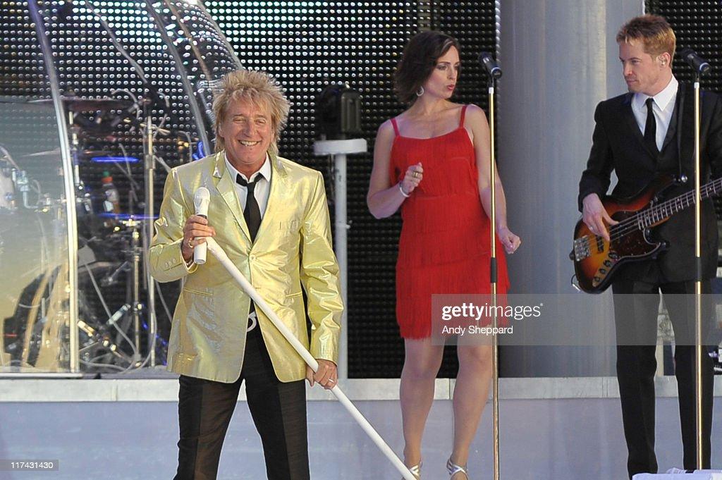 Hard Rock Calling Day 3 - Rod Stewart Headlines : Fotografía de noticias