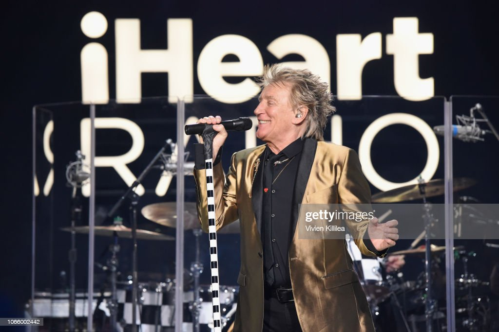 iHeartRadio LIVE With Rod Stewart At The iHeartRadio Theater in LA : News Photo