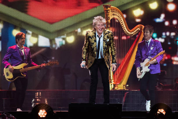 GBR: Rod Stewart Perform At SSE Arena, Belfast