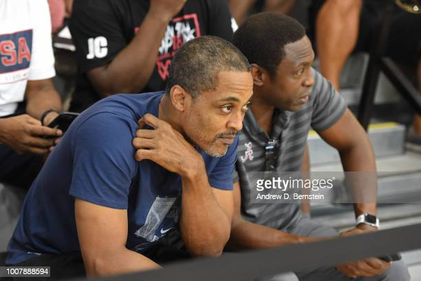 Rod Strickland attends USAB Minicamp at Mendenhall Center on the University of Nevada Las Vegas campus on July 27 2018 in Las Vegas Nevada NOTE TO...