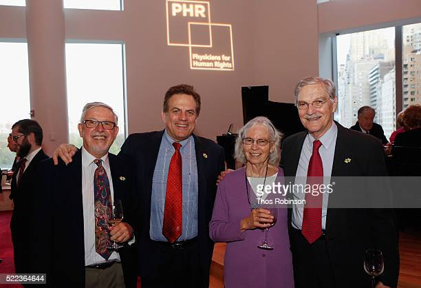 Rod Tucker Gerson H Smoger Cynthia Lawrence and Dr Robert Lawrence attend the 2016 Physicians For Human Rights Gala at Jazz at Lincoln Center on...