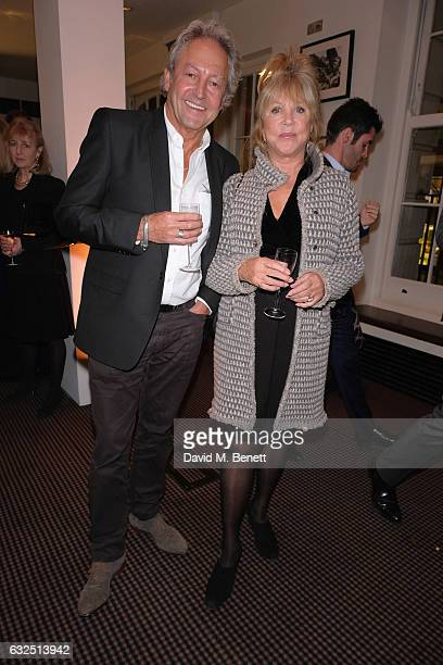 Rod Weston and Pattie Boyd attend Debrett's 500 Gala at BAFTA sponsored by BMW and Hugo Boss on January 23 2017 in London England