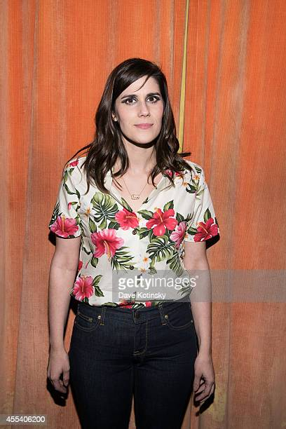 Rodarte designer Laura Mulleavy attends the first Tumblr atternds the Fashion Honor presented to Rodarte at The Jane Hotel on September 9 2014 in New...