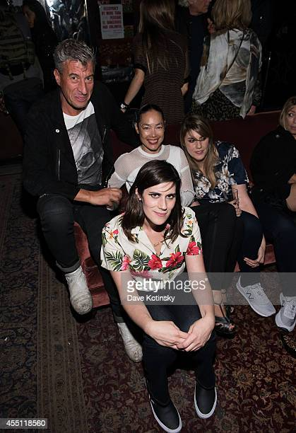 Rodarte designers Laura Mulleavy and Kate Mulleavy attend the first Tumblr atternds the Fashion Honor presented to Rodarte at The Jane Hotel on...