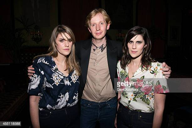Rodarte designers Laura Mulleavy Valentine Uhovski and Kate Mulleavy attend the first Tumblr atternds the Fashion Honor presented to Rodarte at The...