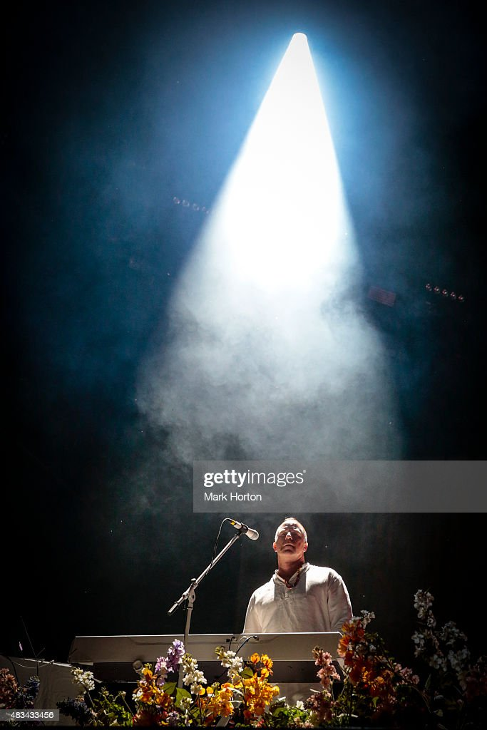 Roddy Bottum of Faith No More performs on Day 2 of the Heavy Montreal Festival at Parc Jean-Drapeau on August 8, 2015 in Montreal, Canada.