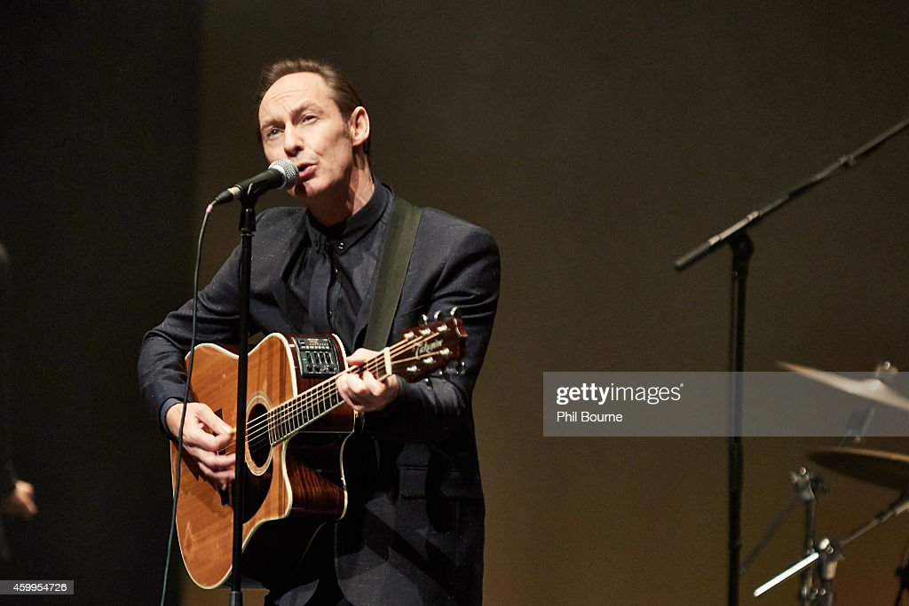 Roddy Frame Performs At the Barbican Centre In London