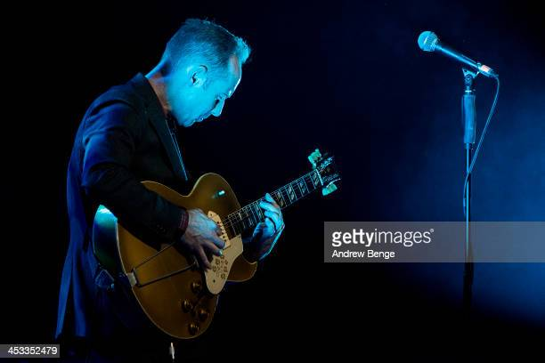 Roddy Frame performs on stage at Bridgewater Hall on December 3 2013 in Manchester United Kingdom