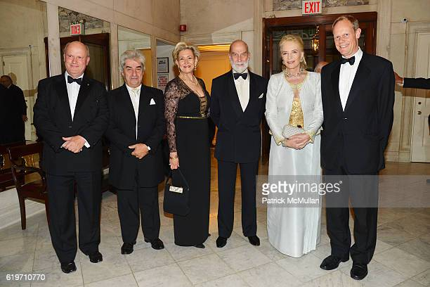 Roddy Gow Marios Papadopoulos April Riddle Gow Prince Michael of Kent Princess Michael of Kent and Ambassador Matthew Rycroft attend the Oxford...
