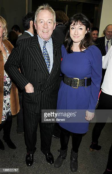 Roddy Llewellyn and Alexandra Llewellyn attend the launch of Louise Fennell's debut novel Dead Rich at White Cube on February 8 2012 in London England