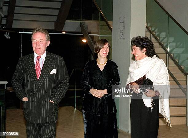 Roddy Llewellyn And His Wife Arriving For The Royal Ballet's Opening Performance At The New Sadler's Wells Theatre L0ndon
