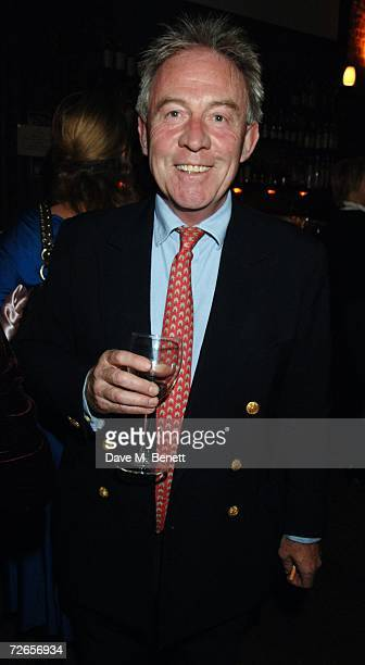 Roddy Llewellyn attends Louise Fennell's 50th birthday party at the Collection on November 27 2006 in London England
