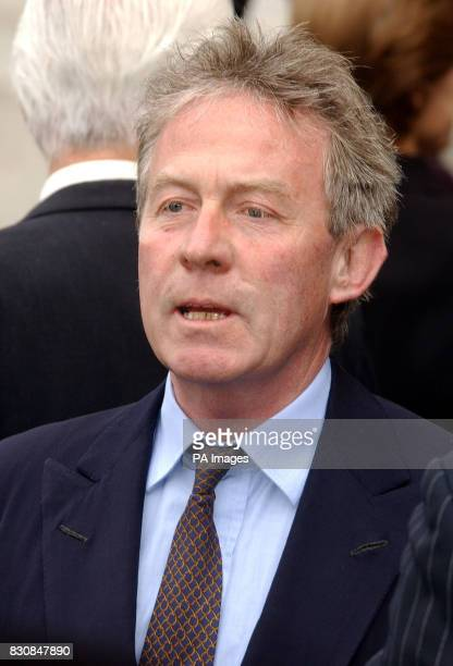 Roddy Llewellyn former boyfriend of Princess Margaret arrives for her memorial service at Westminster Abbey London Princess Margaret the younger...