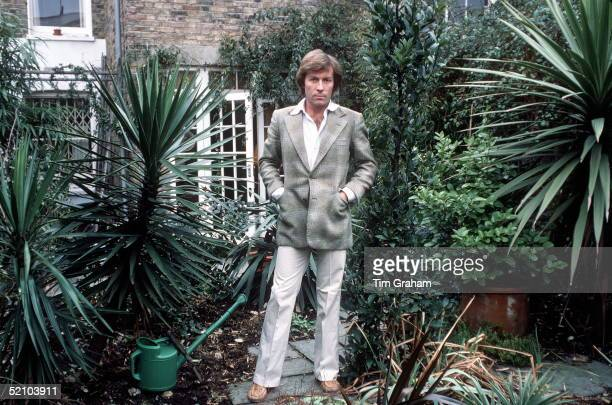 Roddy Llewellyn In His Garden At His Home In London