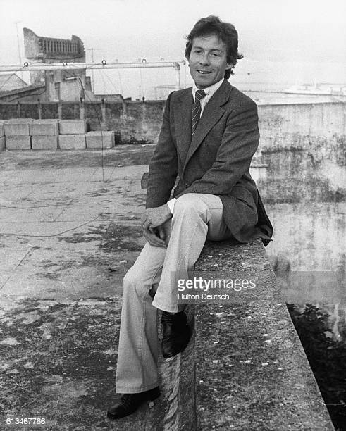 Roddy Llewellyn the companion of Princess Margaret in the heart of the casbah in Tangier where is is staying as the guest of the French millionaire...