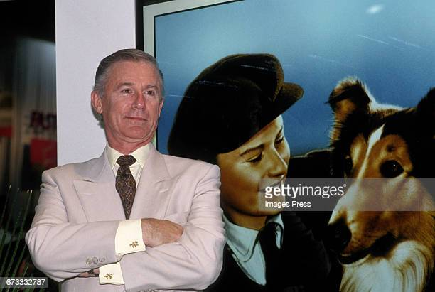 Roddy McDowall attends the 1992 VSDA Convention in Las Vegas Nevada