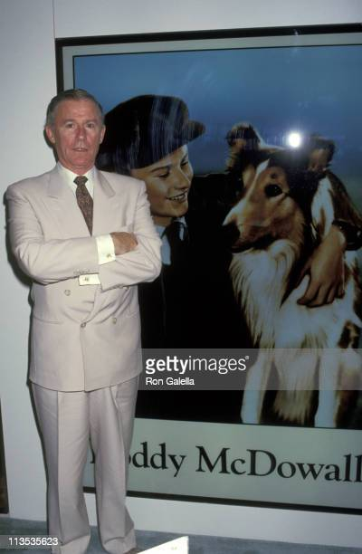 Roddy McDowall during 11th Annual Video Software Dealers Assoctiona Convention at Convention Center in Las Vegas Nevada United States