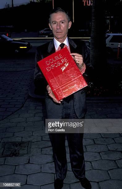Roddy McDowall during Roddy McDowall Celebrates His New Book October 16 1989 at Four Seasons Restuarant in New York City New York United States