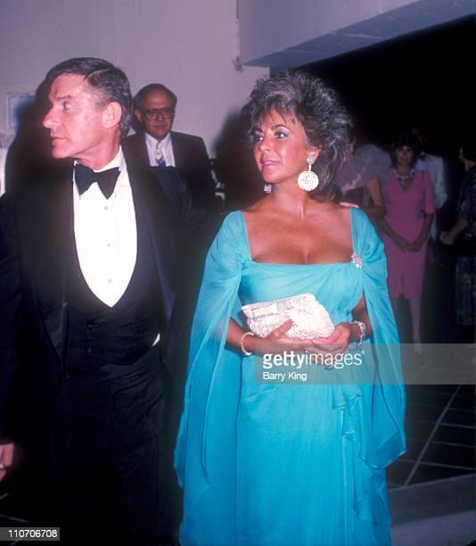 Roddy McDowall Elizabeth Taylor file photo from August 24 1985