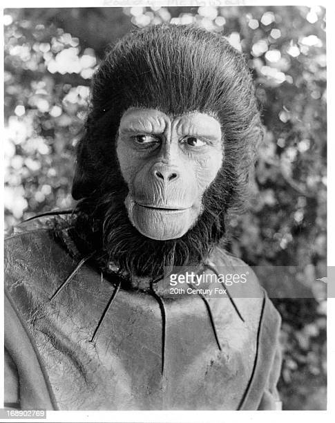 Roddy McDowall in a scene from the film 'Planet Of The Apes' 1968
