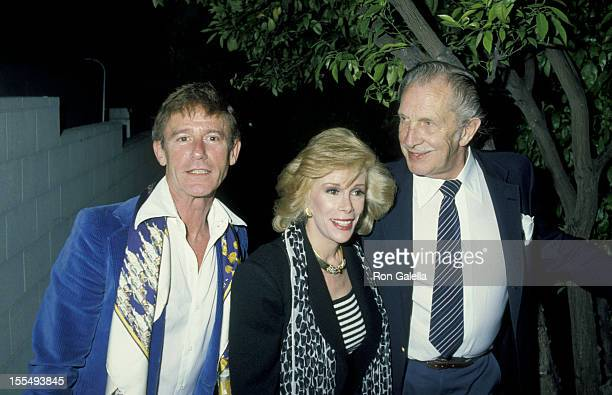 Roddy McDowall Joan Rivers and Vincent Price during Roddy McDowall File Photos United States
