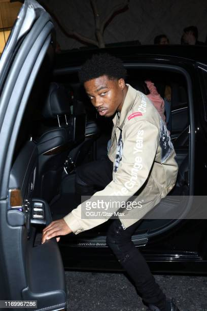 Roddy Ricch is seen on September 20 2019 in Los Angeles CA