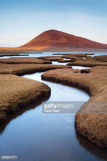 Rodel saltmarsh, Isle of Harris, Scotland