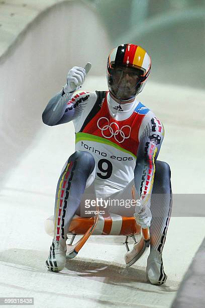 Rodeln Mnner David Moeller olympische Winterspiele in Turin 2006 olympic winter games in torino 2006