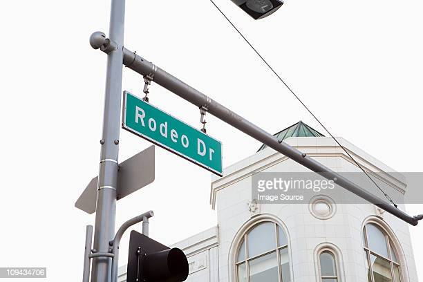 rodeo drive, beverly hills, los angeles county, california, usa - beverly hills stock pictures, royalty-free photos & images