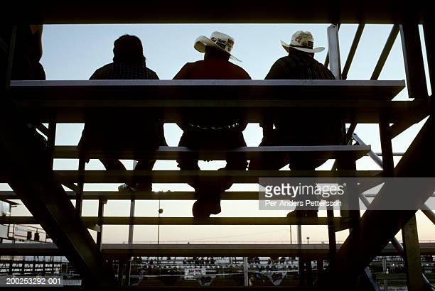 Rodeo fans attend rodeo event in Brownsville, Texas