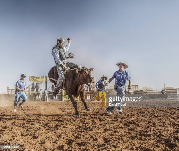 A rodeo in central Queensland, Australia.