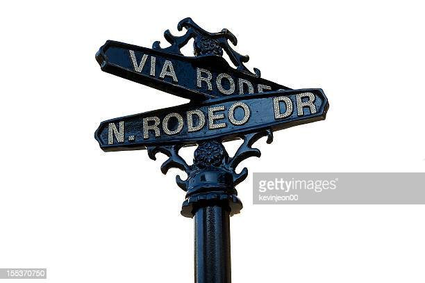rodeo on the street - beverly hills stock pictures, royalty-free photos & images