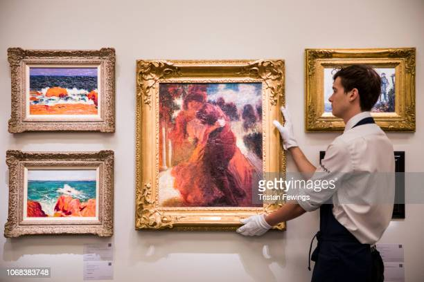Roderic O'Conor's 'Romeo and Juliet' 'Seascape Orange and Red Rocks' est £5000070000 and 'Red Rocks Brittany' go on view at Sotheby's on November 16...