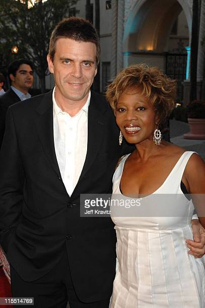 """Roderick Spencer and Alfre Woodard during """"Bury My Heart at Wounded Knee"""" Los Angeles Premiere - Red Carpet at Paramount Theater, Paramount Pictures..."""