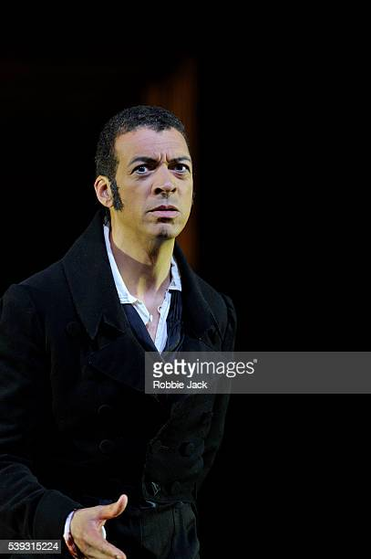 Roderick Williams as Eugene Onegin in Garsington Opera's production of Pyotr Ilyich Tchaikovsky's Eugene Onegin directed by Michael Boyd and...