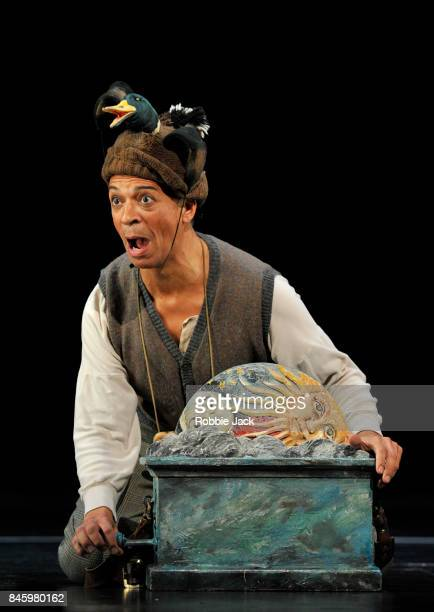 Roderick Williams as Papageno in the Royal Opera's production on Wolfgang Amadeus Mozart's Die Zauberflote directed by David McVicar and conducted by...