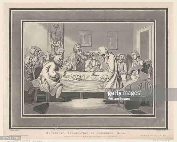 Roderick's Examination at Surgeon's Hall May 12 1800 Artist Thomas Rowlandson Joseph Constantine Stadler