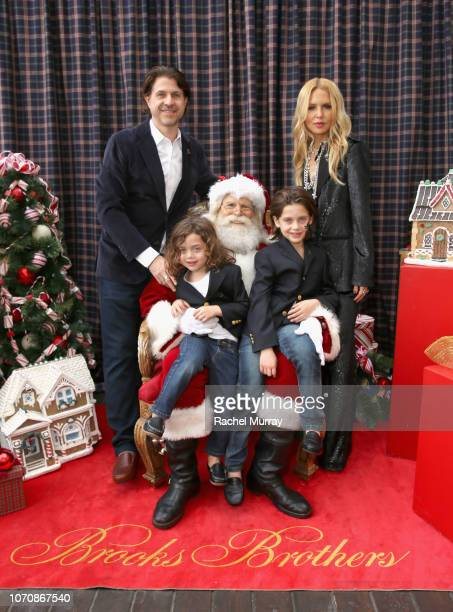 Rodger Berman Kaius Jagger Berman Skyler Morrison Berman and Rachel Zoe attend the Brooks Brothers and St Jude Children's Research Hospital Annual...