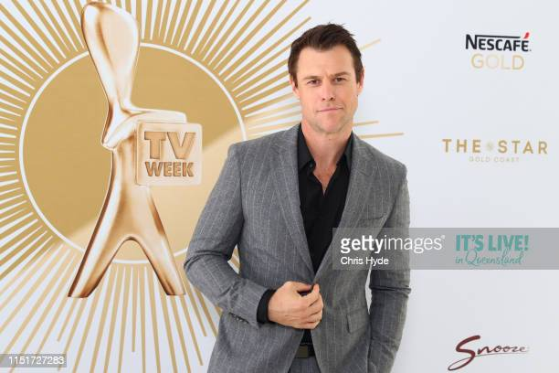 Rodger Corser poses durings the 2019 TV WEEK Logie Awards Nominations Party at The Star Gold Coast on May 26 2019 in Gold Coast Australia