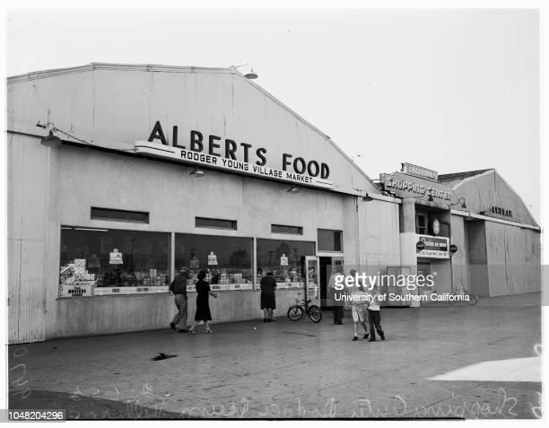Rodger Young Village story, 01 February 1952. Mrs Alice Potter;Joyce Potter -- 3 years ;Mrs Nancy Aaron;Philip Aaron -- 11 years;Ronald Aaron -- 4...