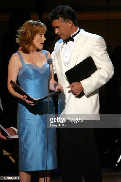Rodgers Hammerstein's South Pacific at Carnegie Hall on Thursday night June 9th 2005This imageReba McEntire and Brian Stokes Mitchell