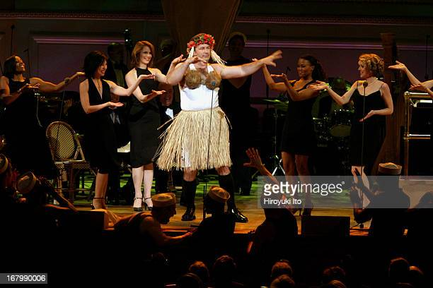 Rodgers Hammerstein's South Pacific at Carnegie Hall on Thursday night June 9th 2005This imageAlec Baldwin as Billis