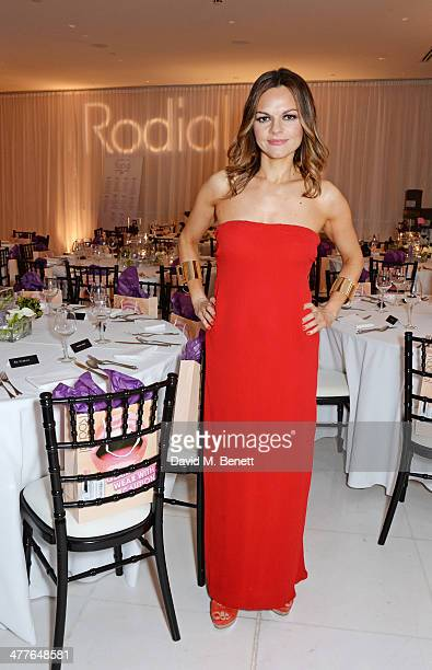 Rodial Founder Maria Hatzistefanis attends the 5th annual Rodial Beautiful Awards to celebrate women of style beauty and elegance at St Martins Lane...