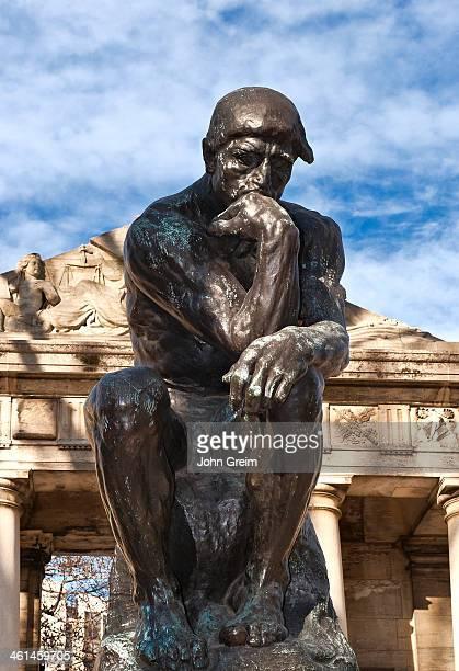 Rodin's 'the Thinker' sculpture