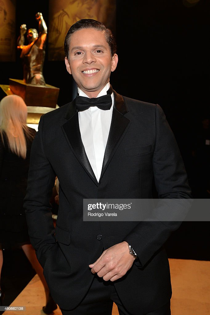 Rodner Figueroa attends the inaugural Premios Univision Deportes backstage at Univision Studios on December 18, 2014 in Miami, Florida.