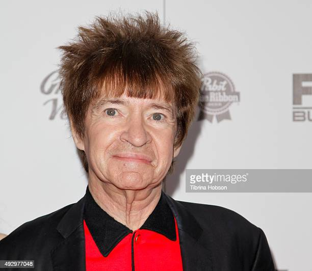 Rodney Bingenheimer attends the premiere of 'All Things Must Pass' at Harmony Gold Theatre on October 15 2015 in Los Angeles California