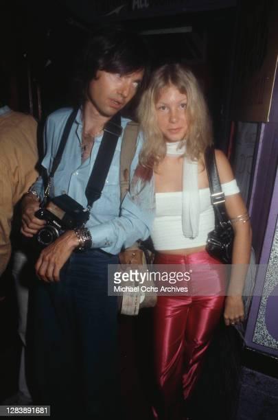 Rodney Bingenheimer's English Disco, a nightclub on Sunset Boulevard in Los Angeles, California, circa 1973.