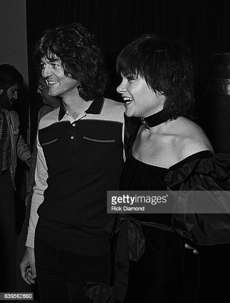 Rodney Crowell and Rodney Crowell attend Rosanne Cash Album Release Party at Animal Crackers in Atlanta Georgia February 13 1981