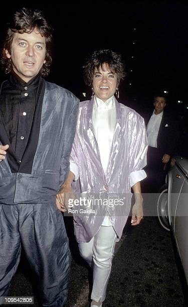 Rodney Crowell and Rosanne Cash during The 28th Annual GRAMMY Awards After Party Hosted by CBS at Rex Restaurant in Los Angeles California United...